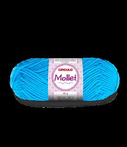 Lã Mollet 40g Cor - 2194 - TURQUESA