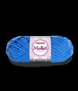 Lã Mollet 40g Cor - 2403 - ACQUA