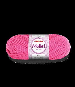 Lã Mollet 40g Cor - 3182 - PITAYA