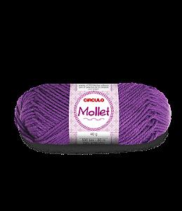 Lã Mollet 40g Cor - 409 - AMETISTA