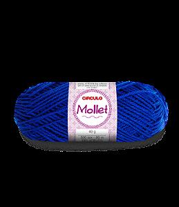 Lã Mollet 40g Cor - 530 - PACÍFICO