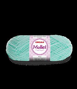Lã Mollet 40g Cor - 550 - VERDE CANDY