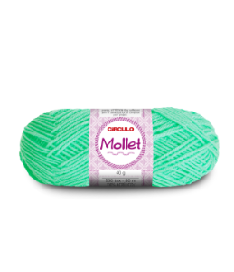 Lã Mollet 40g Cor - 5743 - NEO MINT