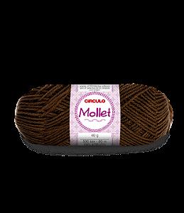 Lã Mollet 40g Cor - 7655 - CRAVO
