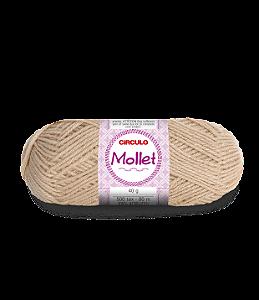 Lã Mollet 40g Cor - 7684 - CAPOEIRA