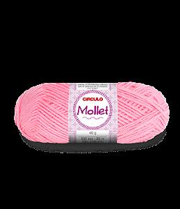 Lã Mollet 40g Cor - 769 - CHICLETE