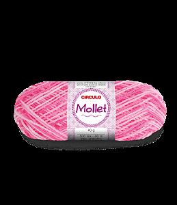 Lã Mollet 40g Cor - 9288 - PRÍMULA