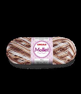 Lã Mollet 40g Cor - 9687 - CARAVELA