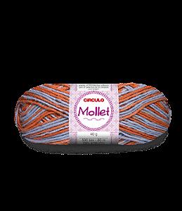 Lã Mollet 40g Cor - 9699 - PRAIA