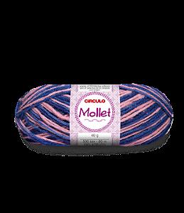 Lã Mollet 40g Cor - 9787 - PÁTINA