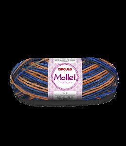Lã Mollet 40g Cor - 9952 - VELEIRO