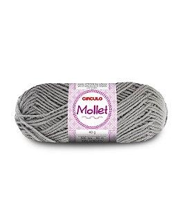 Lã Mollet 40g Cor - 700 - ALUMÍNIO