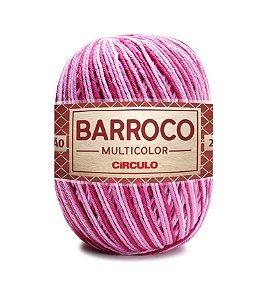 Barbante Barroco Multicolor N.6 200g Cor 9520 - MERLOT