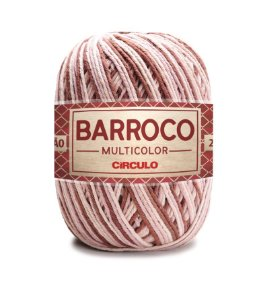 Barbante Barroco Multicolor N.6 200g Cor 9360 - CAFÉ