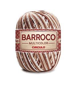 Barbante Barroco Multicolor N.6 200g Cor 9687 - CARAVELA