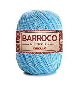 Barbante Barroco Multicolor N.6 200g Cor 9113 - CASCATA