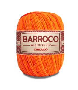 Barbante Barroco Multicolor N.6 200g Cor 9218 - CALÊNDULA