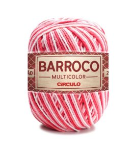 Barbante Barroco Multicolor N.6 200g Cor 9202 - ANTÚRIO
