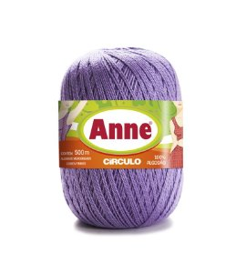 Linha Anne 500 Circulo - Cor 6399 - AZALEIA
