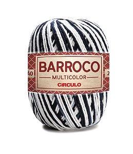 Barbante Barroco Multicolor N.6 200g Cor 9016 - ZEBRA