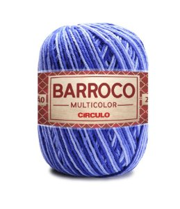 Barbante Barroco Multicolor N.6 200g Cor 9172 - AMULETO