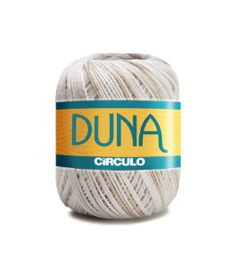 Linha Duna 100g Círculo - Cor 9900 - AREIA