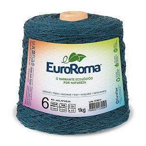 Barbante Euroroma 6 600g - Azul Petróleo - 902