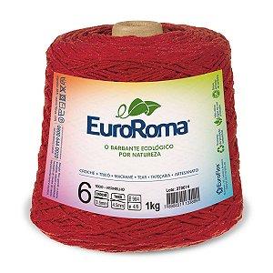Barbante Euroroma 6 600g - Vermelho - 1000