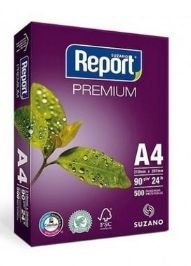 A- PAPEL REPORT A4 90 GRS PCTE C/500 FLS