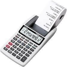 Calculadora de mesa c/bobina 12 dígitos HR8TM Casio