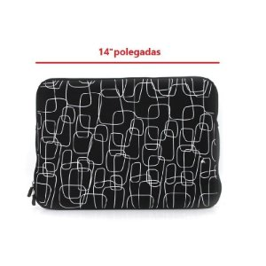 "Case para Notebook de 14"" Polegadas Black Line"