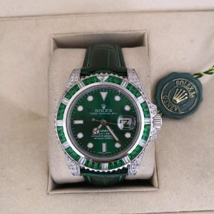 ROLEX SUBMARINER CRAVEJADO GREEN - Q76X223RX