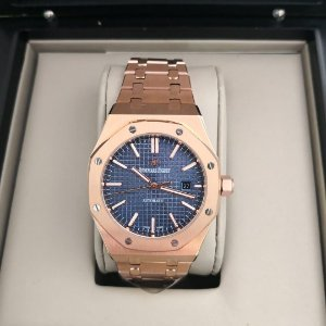AUDEMARS PIGUET GOLD BLUE -U6JFJPA82