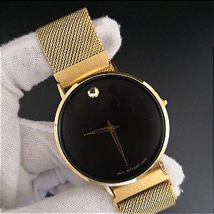 MOVADO GOLD BLACK - 2PYGJZXE4