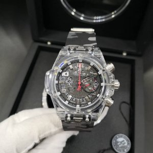 HUBLOT KING POWER TRANSPARENTE CAMUFLADO - AEZXTCXBP