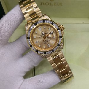 ROLEX CRAVEJADO ALL GOLD - 8ZK8H3Y8C