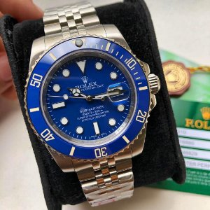 ROLEX SUBMARINER SMURFS NEW BLUE - KTKBAKC58