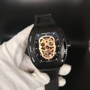 RELOGIO RICHARDMILLE SKULL -QFKDUQ8TV