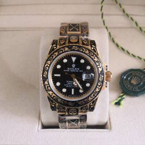 ROLEX SUBMARINER ALL GOLD SKULL - L5W7B6NS2