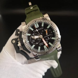 Graham Chronofighter Oversize Diver - 2VP8B46BB-SDX