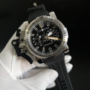 Graham Chronofighter Oversize Diver - YKRLT24WK-SDX