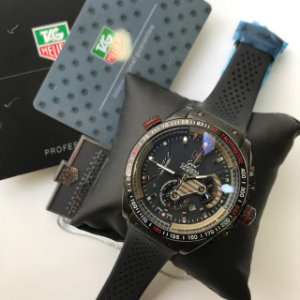 TAG HEUER  CARRERA CALIBRE 36 BLACK - 6H3J5CYQQ
