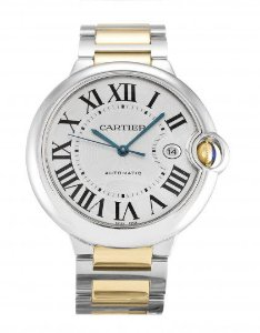 CARTIER BALLON BLEU GOLD AND SILVER  - XLKVC7CZN