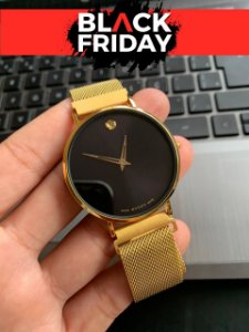 BLACKFRIDAY - MOVADO GOLD BLACK - VH3PRLWUH