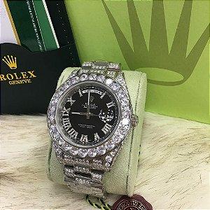 ROLEX DAY-DATE DIAMONDS - KVWZHF76W