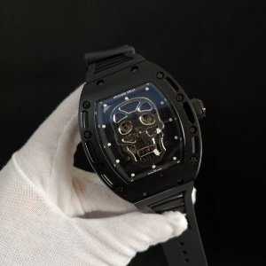 RICHARD MILLE SKULL BLACK - 8W7UQNPXL