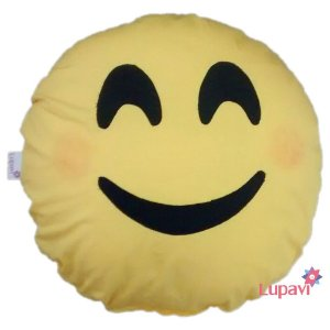 Almofada Emoji Envergonhado