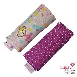 Protetor de Cinto de Bebê Conforto Bailarinas - Par