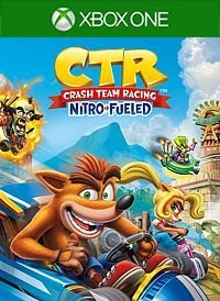 Crash Team Racing Nitro-Fueled - Mídia Digital - Xbox One - Xbox Series X|S