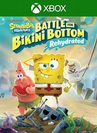 Bob Esponja - SpongeBob SquarePants: Battle for Bikini Bottom - Rehydrated - Mídia Digital - Xbox One - Xbox Series X|S